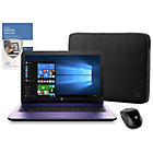 "more details on HP 15.6"" Intel Pentium 4GB 1TB Laptop - Purple."