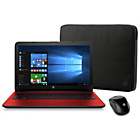 "more details on HP 15.6"" Intel Pentium 8GB 2TB Laptop - Red."