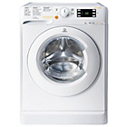 more details on Indesit XWDE861680XW 8KG 1600 Spin Washer Dryer - White.