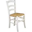more details on Habitat Jak White Dining Chair