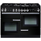more details on Rangemaster Professional 110 Gas Range Cooker - Black.
