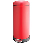 more details on Addis 30 Litre Retro Cushion Close Bin - Red.