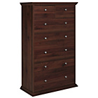more details on Canterbury 5+2 Drawer Chest - Walnut effect