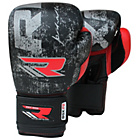 more details on RDX Leather 14oz Boxing Gloves - Black.