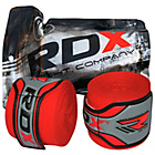 more details on RDX Boxing Glove Inner Hand Wraps - Red.