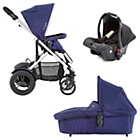 more details on Baby Elegance Cupla Travel System - Navy Blue.