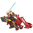 more details on Star Wars Hero Mashers Jedi Speeder and Anakin Skywalker.
