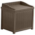 more details on Suncast Java Wicker 83 Litre Storage Seat.