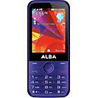 "more details on Sim Free Alba 2.8"" Mobile Phone - Purple."