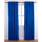 more details on ColourMatch Lima Eyelet Curtains - 117x183cm - Marina Blue.