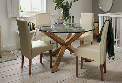 Buy Heart of House Oakington Solid Oak and Glass Dining  : 5153385RZ001Cfmtpjpgampwid570amphei513 from www.argos.co.uk size 570 x 513 jpeg 87kB