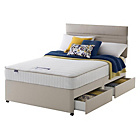 more details on Silentnight Stroud Memory Small Double 4 Draw Divan Bed.