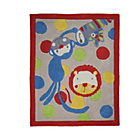 more details on Kiddy Play Jungle Rug - 80x100cm - Multicoloured.
