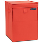 more details on Brabantia Stackable Laundry Box - Warm Red.