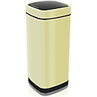 more details on Addis 40 Litre Deluxe Press Top Square Bin - Cream.
