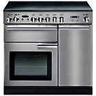 more details on Rangemaster Professional 90 Electric Range Cooker - S/Steel.