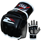 more details on RDX Leather Large to XLarge Mixed Martial Arts Gloves -Black