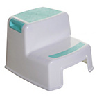 more details on Dreambaby 2 Height Step Stool - Aqua.