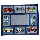 more details on Kiddy Play Racing Car Boy Rug - 80x100cm.