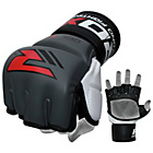 more details on RDX Leather 7oz Mixed Martial Arts Gloves - Grey.