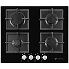 more details on Russell Hobbs RH60GH402B Gas Hob - Black.