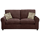 more details on HOME Tabitha Fabric Sofa Bed - Chocolate.