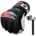 more details on RDX Leather 7oz Mixed Martial Arts Gloves - Black.