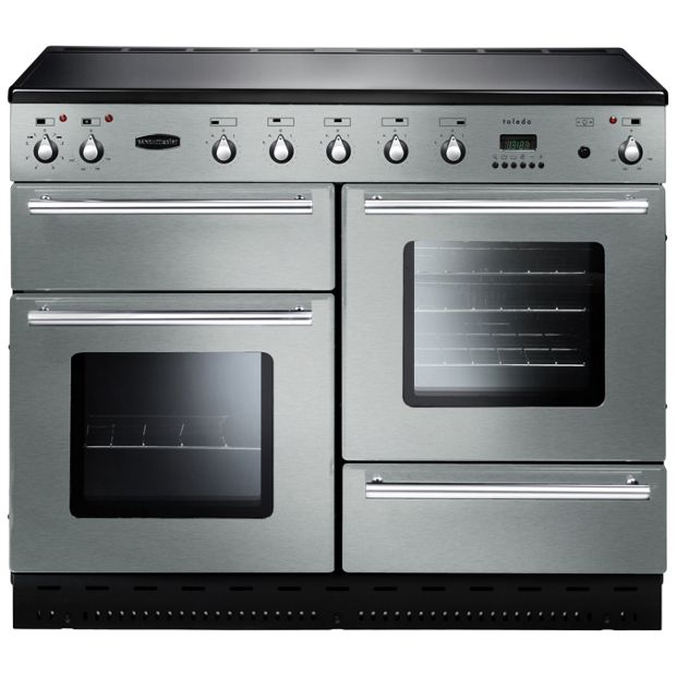 Buy Rangemaster Toledo 110 Electric Range Cooker S Steel