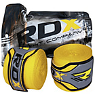 more details on RDX Boxing Glove Inner Hand Wraps - Yellow.