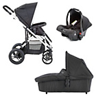 more details on Baby Elegance Cupla Travel System - Black.