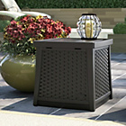 more details on Suncast Java 49 Litre Deck Box Side Table.