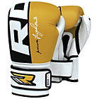 more details on RDX Leather 14oz Boxing Training Gloves - Yellow.