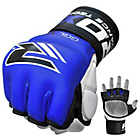 more details on RDX Leather 7oz Mixed Martial Arts Gloves - Blue.