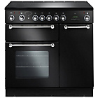 more details on Rangemaster RM90 Electric Range Cooker - Black.
