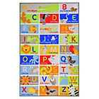 more details on Kiddy ABC Rug - 100x160cm - Multicoloured.
