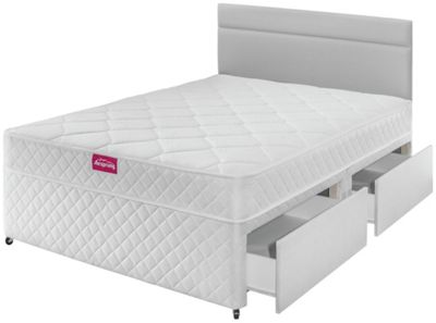 Buy Silentnight Northolt Memory Double 4 Drw Divan Bed At Your Online Shop For