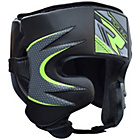 more details on RDX Maya Leather Medium to Large Head Guard.