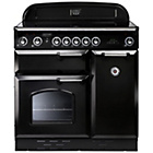 more details on Rangemaster Classic 90 Electric Range Cooker - Black.