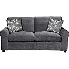 more details on HOME Tabitha Fabric Sofa Bed - Charcoal.