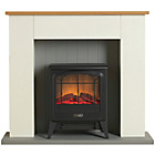 more details on Dimplex Compact Electric Stove Suite - Cream.