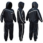 more details on RDX Nylon Medium Sauna Sweat Suit - Black.
