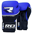 more details on RDX Quad Kore 14oz Boxing Gloves - Blue.