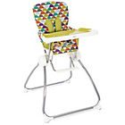 more details on Mamas and Papas Flip and Fold Highchair - Sunrise Stripe.