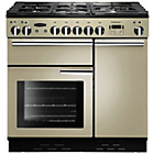 more details on Rangemaster Professional 90 Dual Fuel Range Cooker - Cream.