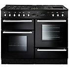 more details on Rangemaster Toledo 110 Dual Fuel Range Cooker - Black.