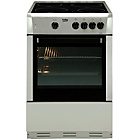 more details on Beko BSC630S Electric Cooker - Silver.