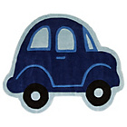 more details on Kiddy Play Car Boy Rug - 80x100cm.