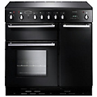 more details on Rangemaster Toledo 90 Electric Range Cooker - Black.