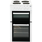 Beko BD533AW Double Electric Cooker - White
