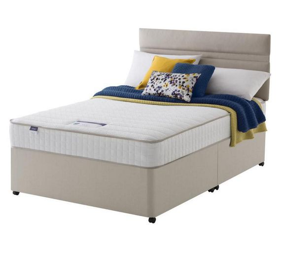 buy silentnight stroud memory small double divan bed at